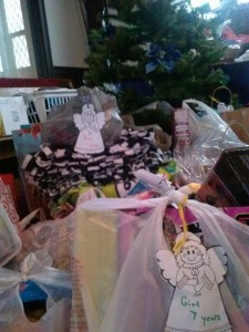 Angel Tree Gifts 2